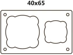 Dvouprůduchový BLK40x65 (tvárnice 40x65x33cm)