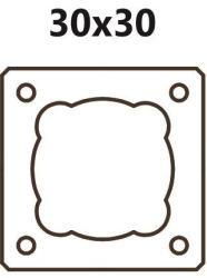 Jednoprůduchový BLK 30 (tvárnice 30x30x33cm)