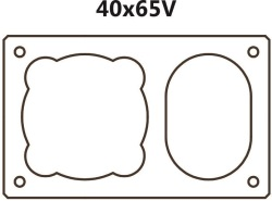 Jednoprůduchový s ventilací BLK 40x65V (40x65x33cm)