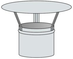 Meidingerova hlavice - nerez 0,6 mm (1.4301)