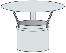 Meidingerova hlavice Ø125 mm