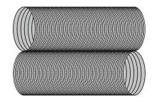 Ohebná vložka Flex Ø100 mm délka 5-12 m - nerez 2x0,12 mm