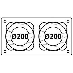 Průměr 200mm/200mm