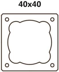 Jednoprůduchový BLK 40 (tvárnice 40x40x33cm)