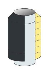Provedení nerez/hliník barvený